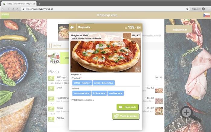 Váš vlastní objednávkový systém rozvozu jídel